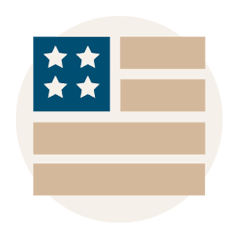 Made USA Icon